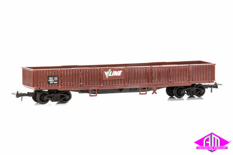 Gondola/Open Wagon - V/Line Red (Freightline Series)