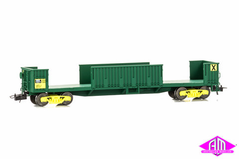RKBX Slab Steel Wagon- AN Green 533V