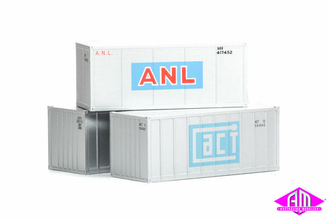 20' Container ACT, ACTU & ANL Pack 9203 - 3 Pack