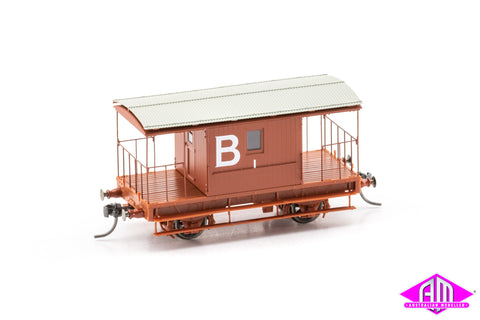 Brake Van for Coal Roads, B 1, CHG-14