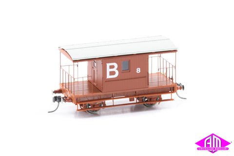 Brake Van for Coal Roads, B 8, CHG-17