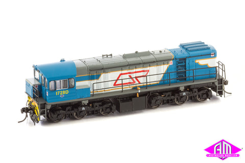 Wuiske 1720 CLASS DRIVER ONLY BLUE LIVERY #1728D HO