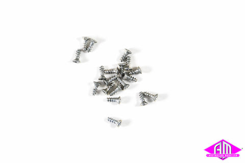 5mm Countersunk Screws - pkt 20
