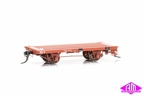 SDS-KQ-C KQ 4 wheel Container Wagon - C (3 Pack)
