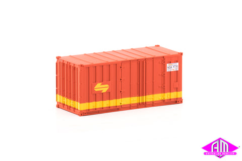 Container 20 foot NGA SRA A (3 Pack)