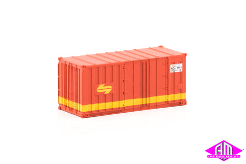 Container 20 foot NGA SRA B (3 Pack)