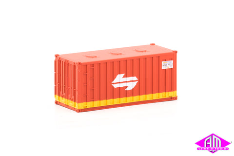 Container 20 foot NGB SRA A (3 Pack)