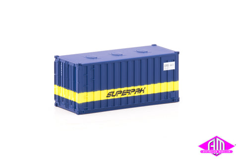 Container 20 foot ERB SUPERPAK B (3 Pack)