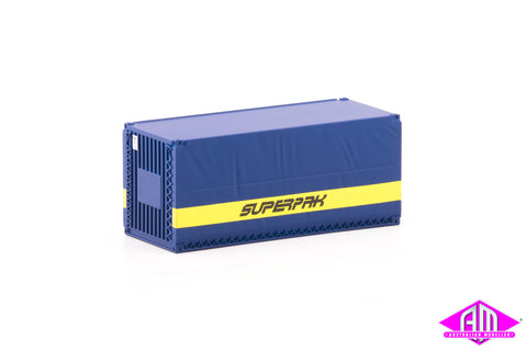 Container 20 foot ERM SUPERPAK A (3 Pack)