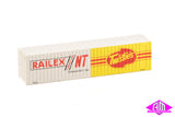 Jumbo Container 40' Railex Pack A (2 Pack)