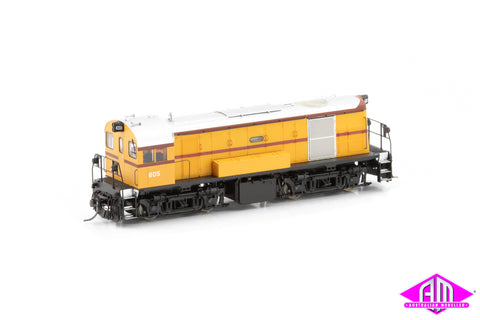 800 Class Locomotive 805 Traffic Yellow