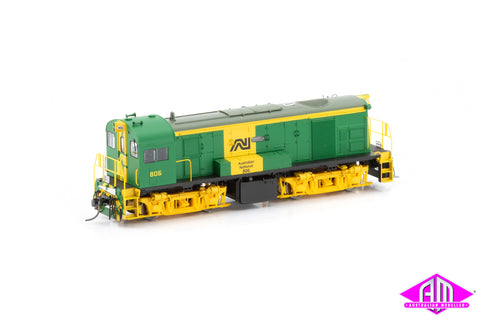 800 Class Locomotive 806 AN Green & Yellow