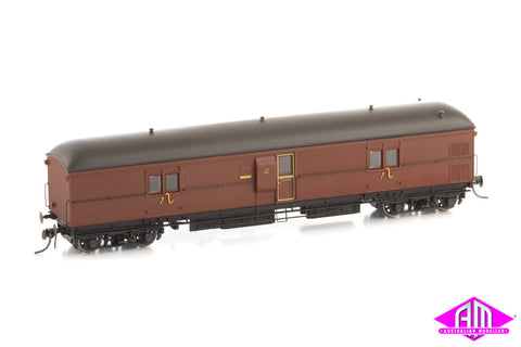 EHO Express Brake Van 1950's EHO 630 Indian Red, Weathered Roof