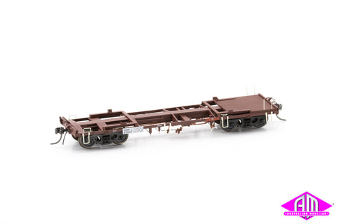 NZMF Container Wagon SRA Red, Pack A, 3 pack