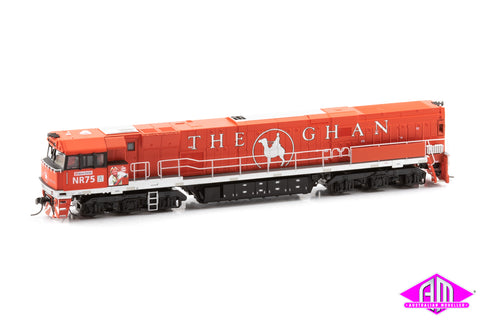 NR Class Locomotive NR 75 The Ghan 'Steve Irwin'