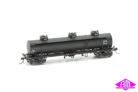 TULLOCH 10,000 Gallon Rail Tank Cars 3 Pack 1960 Pack C