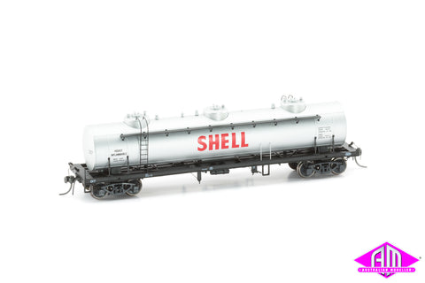 TULLOCH 10,000 Gallon Rail Tank Car Single Pack 1960s Shell 17