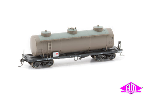 Victorian Railways 10,000 Gallon Tank Cars 3 Pack VTQF Weathered Pack A
