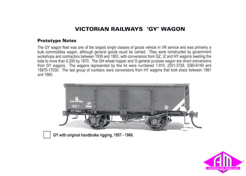 GY Open Wagon Kit - Early Hand Brake