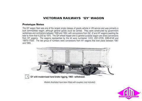 GY Open Wagon Kit - Modernised Hand Brake