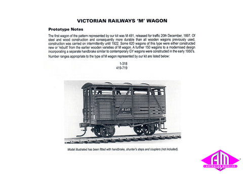 M Cattle Wagon Kit
