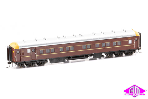 NSW Supplementary Interurban Car Deep Indian Red no logos SI-202a