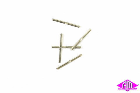 SL-110 HO Code 75 Metal Rail Joiners (24pc)