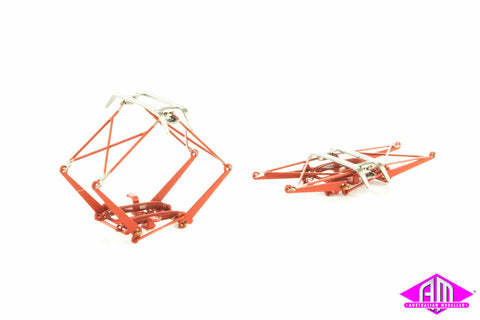 Pantographs NSW Early Style Red - 1 Pair SP-50