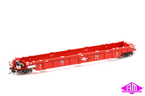 PWWY Well Wagon, SCT Red - 4 Car Pack SWW-3