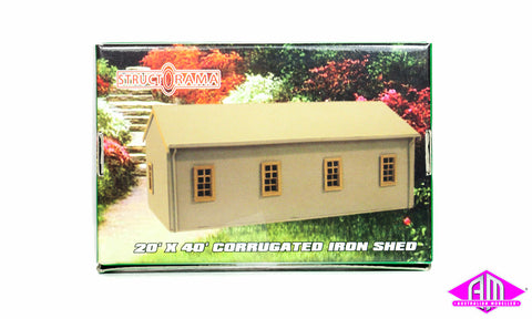 20'x40' Corrugated Iron Shed Kit