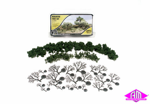 TR1111 REALISTIC TREE KIT 3/4 '-3' (21)
