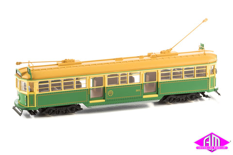 W6 Melbourne Tram 'Green rattler no. 965 MMTB' Diecast Static