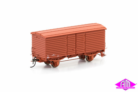 U Van VR Wagon Red 1960-1972 Body Version 4 (6 Car Pack) VFW-11