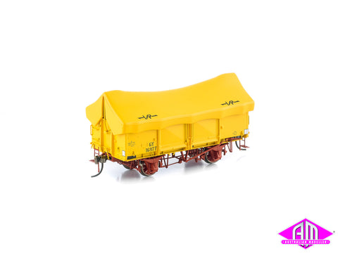 GY Wagon VR Hansa Yellow with Yellow Tarp 6 Car Pack VFW-31