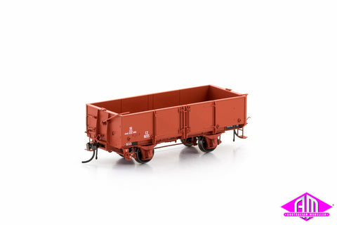 IZ Open Wagon 1960-1964 Era, VR Wagon Red, 6 Car Pack VFW-86
