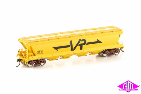 VHGY Grain Hopper VR Yellow 4 car pack VGH-26