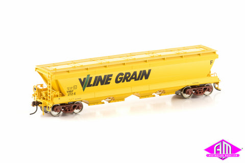 VHGF Grain Hopper V/Line Grain Yellow 4 car pack VGH-30