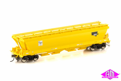 BGGX Grain Hopper SSR Yellow 4 car pack VGH-50