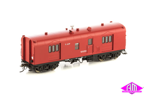 CP Guards Van, VR Passenger Car Red with V&SA wording, 2 Car Pack, VGV-7