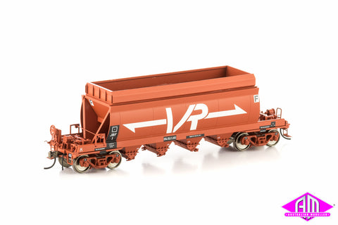 JBF Briquettes Hopper, Wagon Red with Large VR Logo, 4 car pack VHW-5