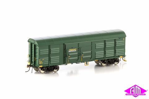 VLCX Louvered Van, Freight Australia Green, 4 Car Pack VLV-24