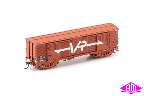 VP Louvre Van, VR Wagon Red with Large VR Logo & BX Bogies - 2 Car Pack VLV-42