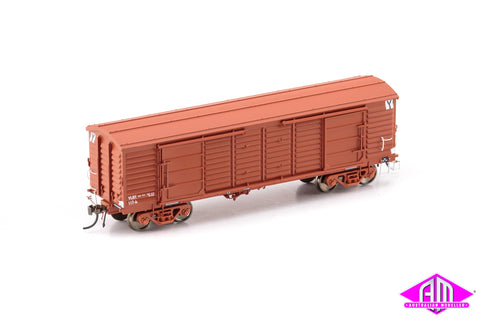 VP Louvre Van, VLBY Louvre Van, VR Wagon Red with No Logo & Super Service Bogies - 2 Car Pack VLV-45