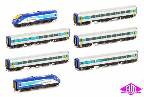 XPT 7 Car Set RailCorp Livery XPT-5