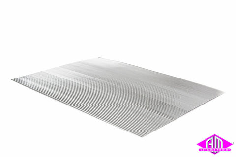 Corrugated Aluminum 140x200x1.5/.15mm