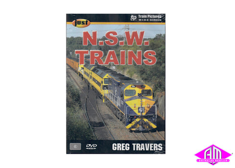 Just NSW Trains DVD