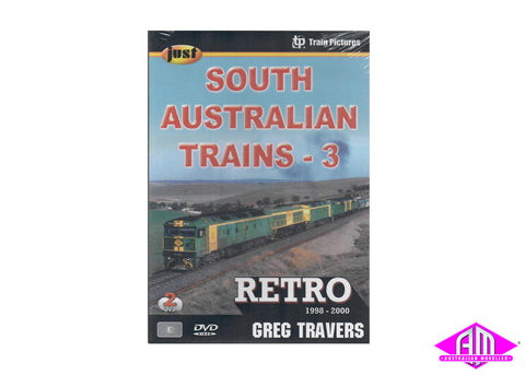 Just South Australian Trains 3 Retro DVD