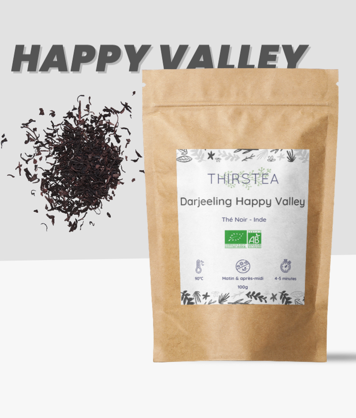 Thé noir Darjeeling Happy Valley (FTGFOP 1)