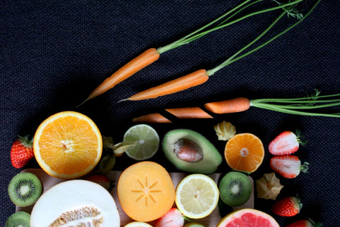 Vitamin C rich fruits and vegetables