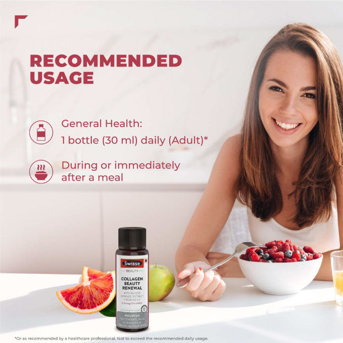 Swisse Collagen Beauty Renewal With Blood Orange Extract 30Ml